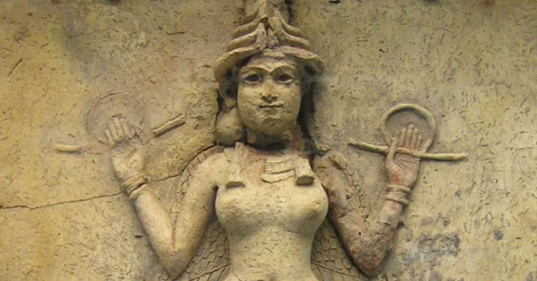 Inanna, a deusa suméria que desceu aos infernos
