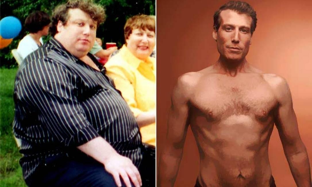 Homem que emagreceu 100 kg conta os segredos da sua incrível mudança