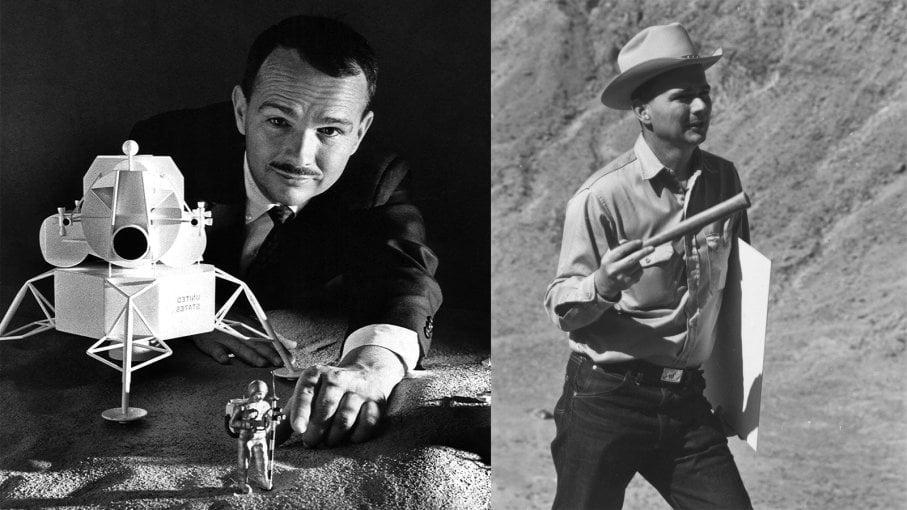 Eugene Shoemaker, o único ser humano a ser enterrado na Lua