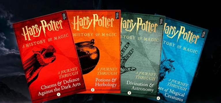 Quatro novos livros sobre o universo Harry Potter são anunciados