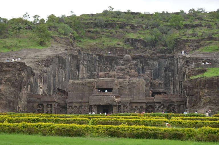 Kailasa, o incrível templo esculpido em uma única pedra