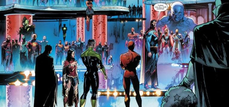 DC apresenta a maior Liga da Justiça de todos os tempos nas HQs