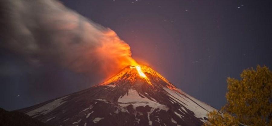 O que acontece quando furacões atingem vulcões?
