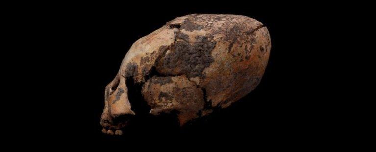 """Crânio que parecer ser de um """"alien"""" é encontrado na China"""