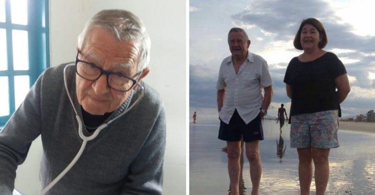 Senhor de 92 anos atende crianças de graça em cidade do interior