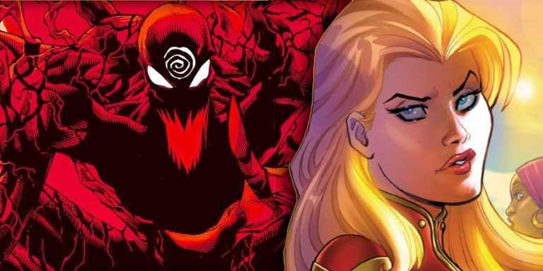 Carnificina acaba de matar um personagem inesperado em HQ da Capitã Marvel