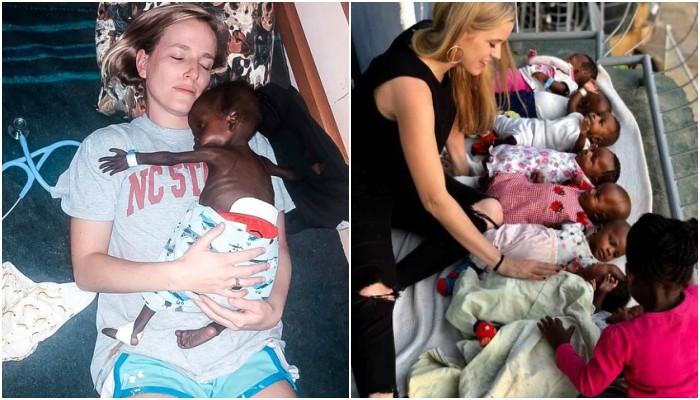 Ela abandonou tudo para cuidar de pessoas necessitadas no Quênia