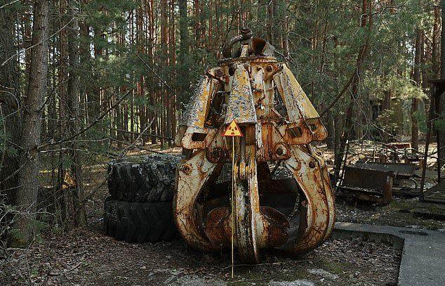 Essa garra localizada em Chernobyl é uma das coisas mais perigosas da Terra