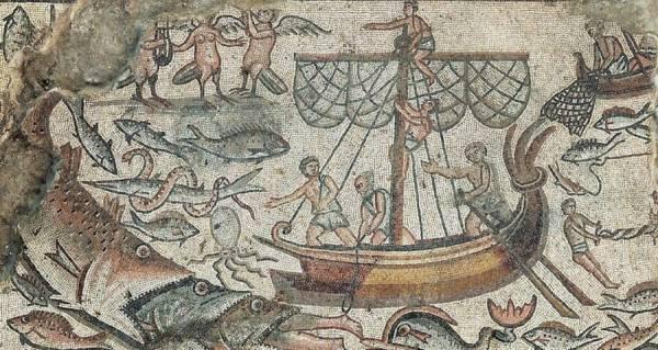 Jonah And Three Fishes Mosaic 600x319, Fatos Desconhecidos