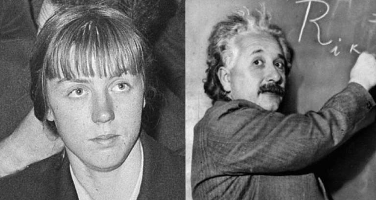 A neta de Albert Einstein tinha que mergulhar no lixo para procurar alimento