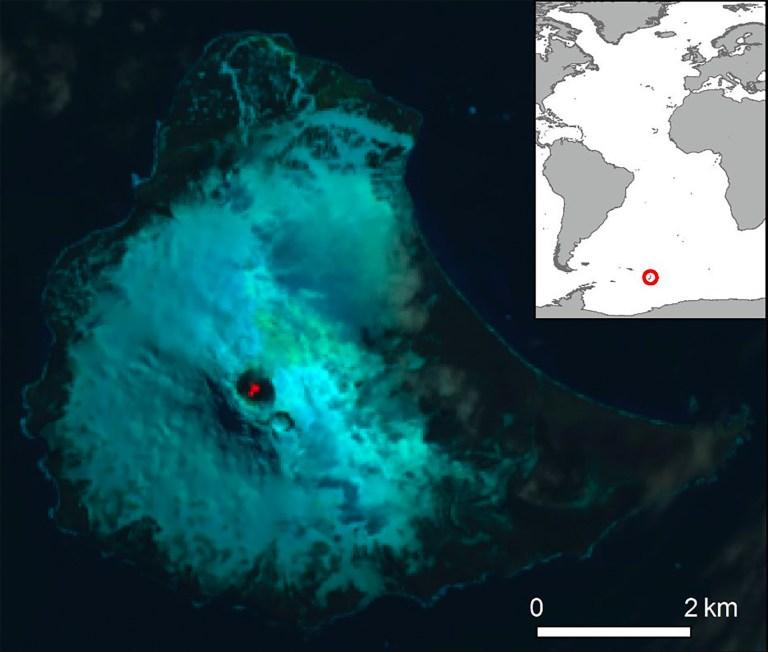 Lago de lava borbulhante é descoberto na Ilha Antártica