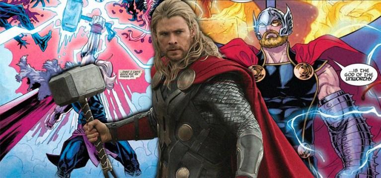 Marvel revela o que faz o Thor ser digno do Mjolnir