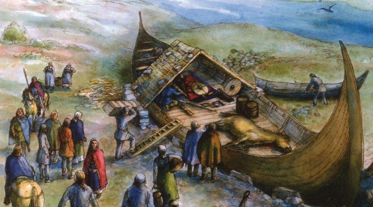 Túmulo viking extremamente preservado é encontrado na Suécia