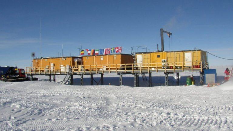 Poeira radioativa de supernova antiga está enterrada na Antártica