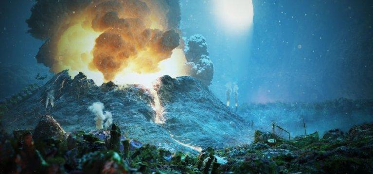 7 mais incríveis vulcões submarinos que existem