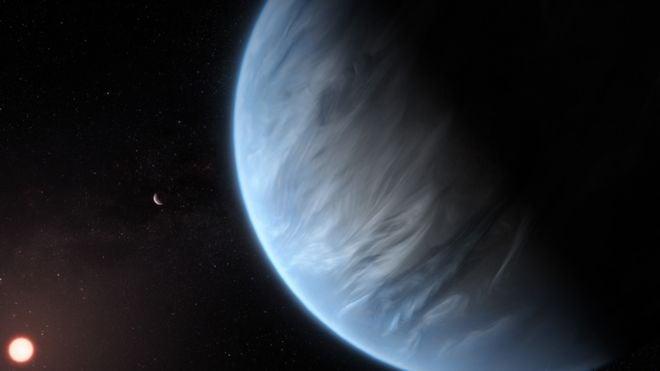 Encontrada água, pela primeira vez, em atmosfera de planeta potencialmente habitável