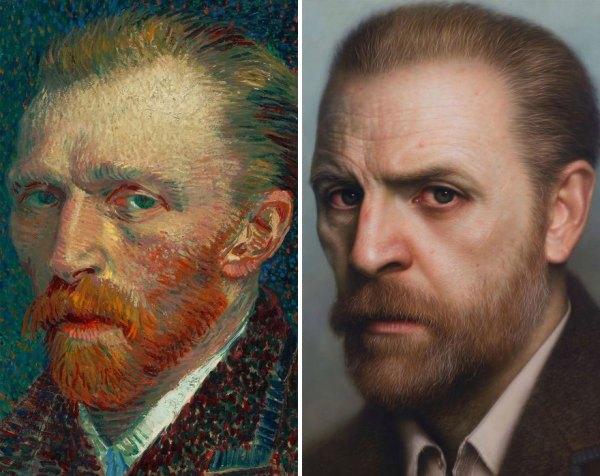 Vincent Van Gogh 600x476, Fatos Desconhecidos