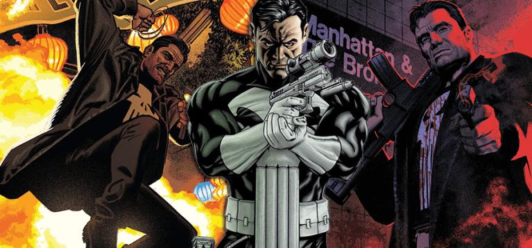 Justiceiro passa por transformação em nova HQ da Marvel