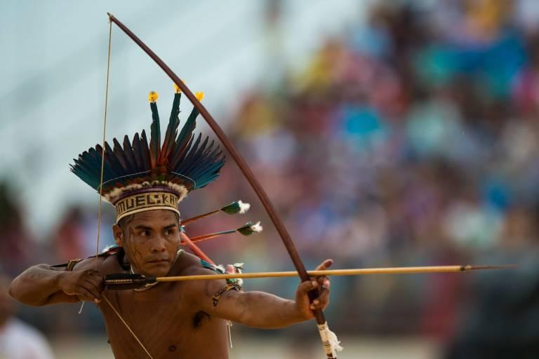 15 imagens incríveis que mostram os Jogos Mundiais dos Povos Indígenas