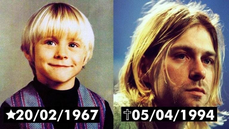 O último dia de Kurt Cobain