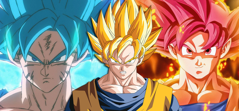 Afinal, por que os cabelos dos super saiyajins mudam de cor?
