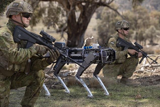 A Austrália está desenvolvendo robôs assassinos para se proteger da China