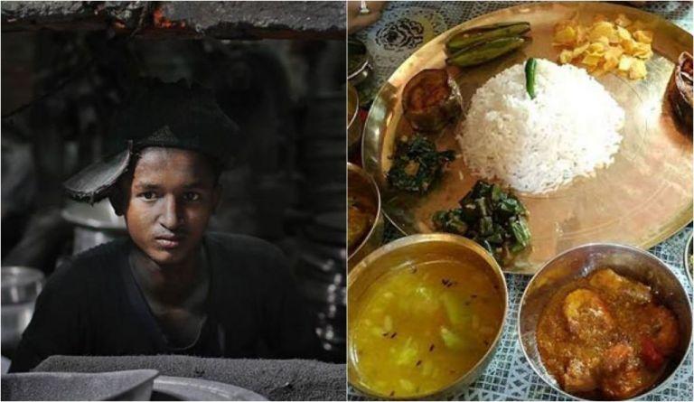 7 imagens fortes do que as crianças comem ao redor do mundo
