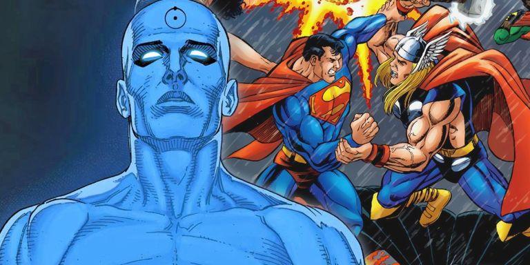 Nova HQ da DC sugere crossover com a Marvel