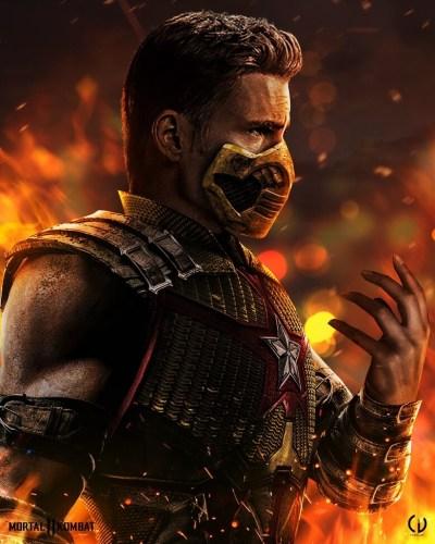 Camille Vialet Mortal Kombat Captain America 400x500, Fatos Desconhecidos