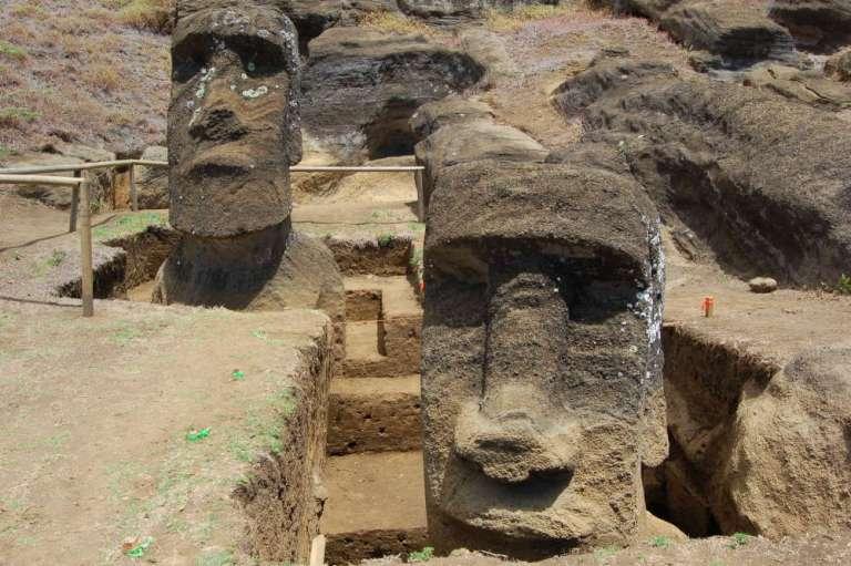Chega ao fim o mistério das estátuas Rapa Nui?
