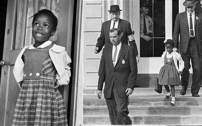 Conheça a história de Ruby Bridges, a menina que enfrentou o racismo de todo um país