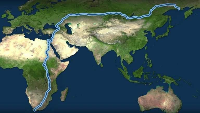 Qual é a maior distância percorrível da Terra?