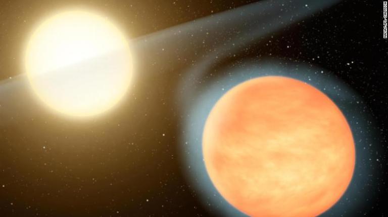 Estagiário de 17 anos descobre planeta com dois sóis