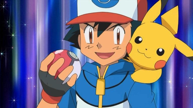 Ash Ketchum captura o seu Pokémon mais forte até agora