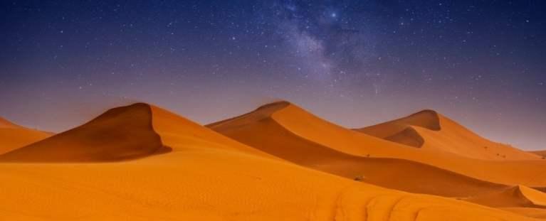 Dunas de areia se comunicam entre si, dizem os físicos