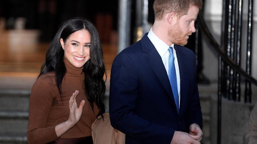 Príncipe Harry e Meghan Markle tem data oficial para deixar a realeza
