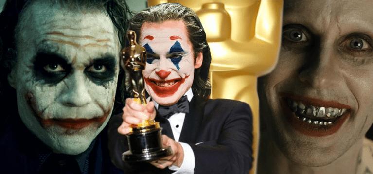 Quatro filmes da DC já ganharam o Oscar e o Coringa está em todos eles