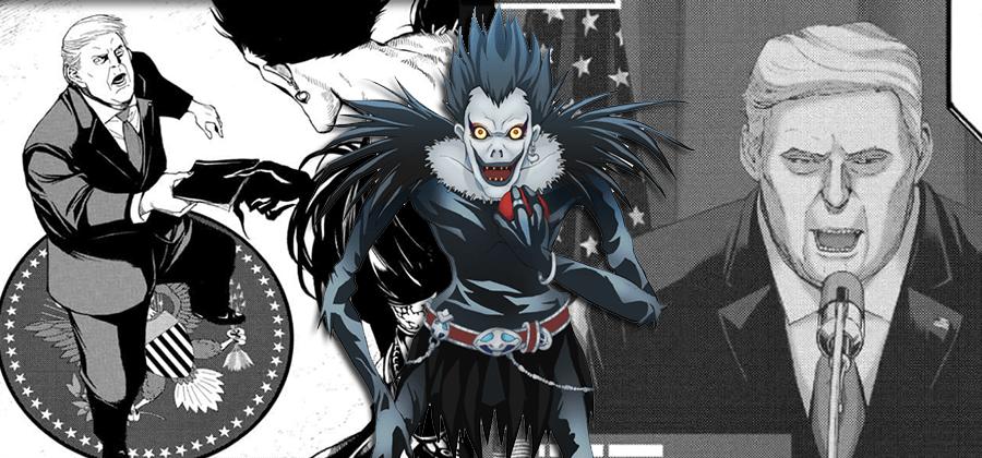 Donald Trump aparece em nova história de Death Note