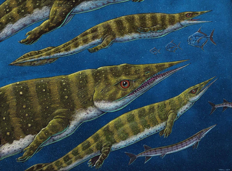 Foi descoberta no Alasca uma nova espécie de réptil marinho pré-histórico