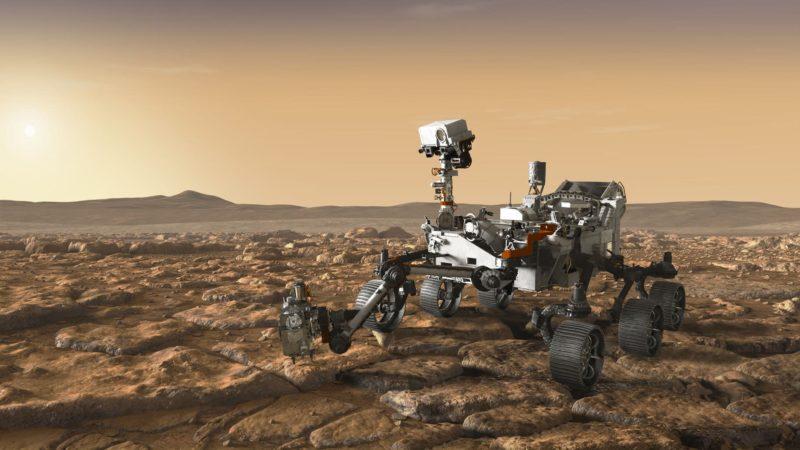Rover da NASA encontrou evidências de vida antiga em Marte