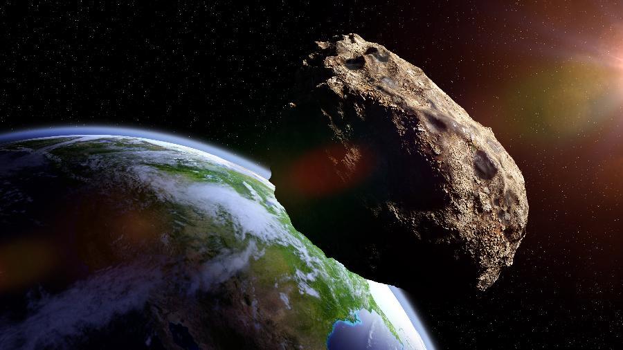 NASA identifica gigante asteroide se aproximando do nosso planeta