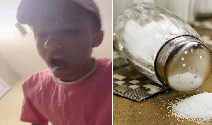 Entenda os perigos do desafio do sal, o novo viral da internet
