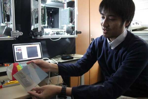 Researchers Create Touchable Holograms 01 600x401, Fatos Desconhecidos