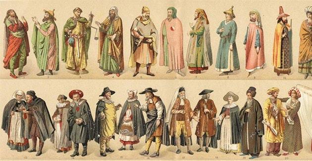 7 curiosidades que apresentam acessórios e roupas sob outro ângulo no passado
