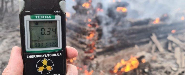 Radiação em Chernobyl aumentou 16 vezes por causa de incêndios florestais