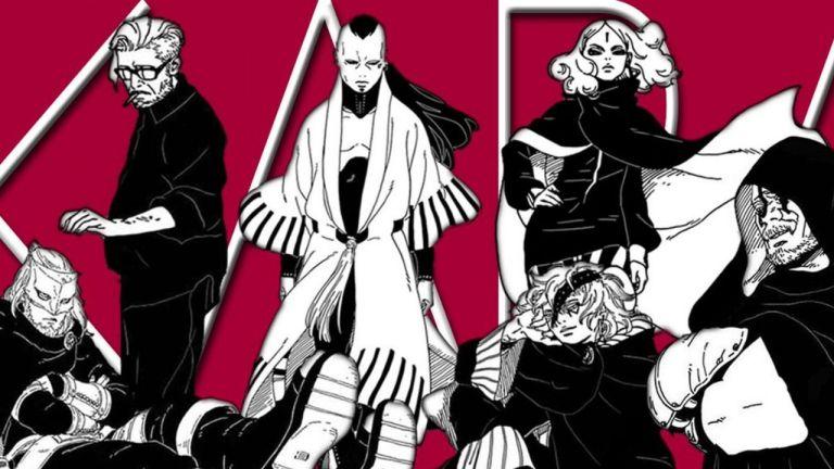 Novos vilões de Boruto aparecem em pôster do anime