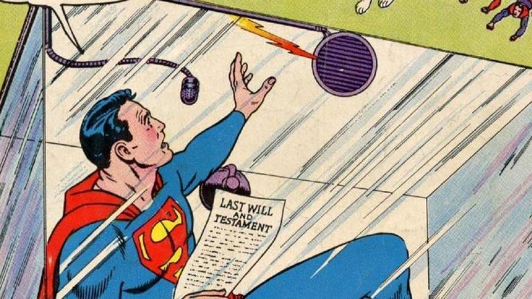 O dia em que o Superman precisou ficar em quarentena