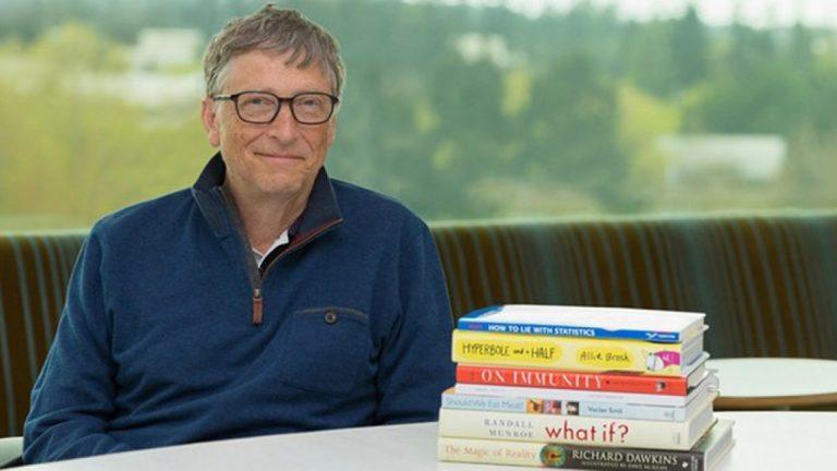 Esses são os 5 livros que Bill Gates indica para ler na quarentena