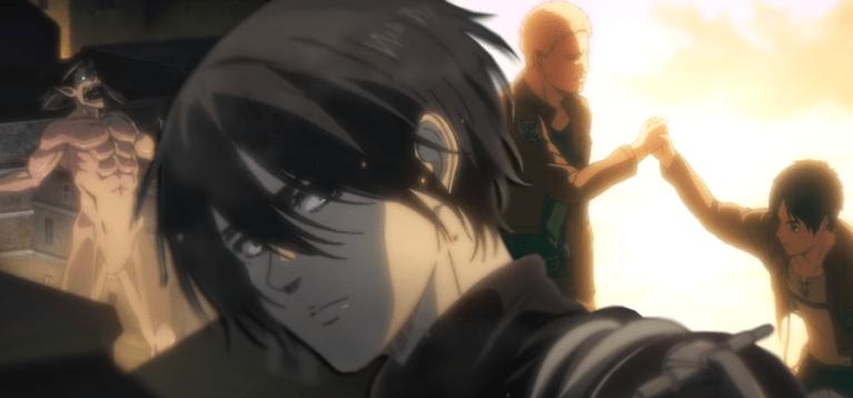 Trailer da última temporada de Attack on Titan revela novo visual dos personagens