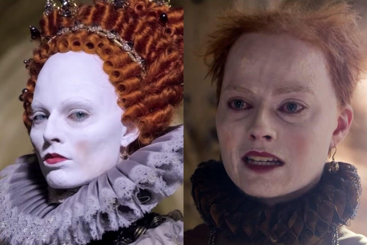 Por que Elizabeth I usava tanta maquiagem?